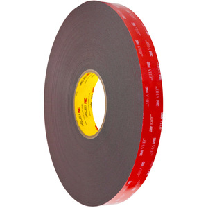 3 Pack 3M VHB Double Sided Foam Adhesive Tape 5952 Grey Automotive Mounting Industrial Grade