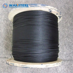 2.5mm 1x19 A4 stainless steel wire rope cable multiple lengths available