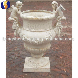 Antique Cast Iron Wholesale Garden Urns