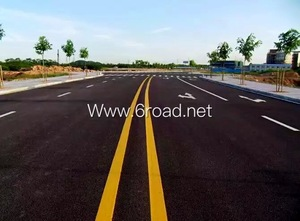reflective thermoplastic road marking paint, reflective