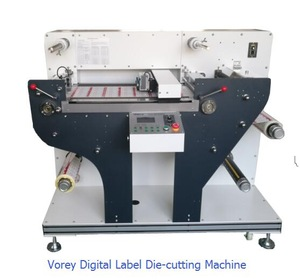 rotary label cutting machinery, rotary label cutting