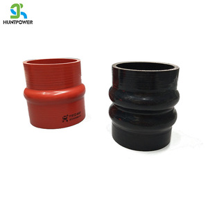 AutoSiliconeHoses 63mm ID Red Silicone Hump Hose