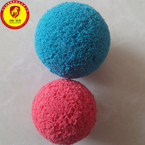 Hot Sponge Rubber Sports Ball with String Solid High Bounce Ball CA