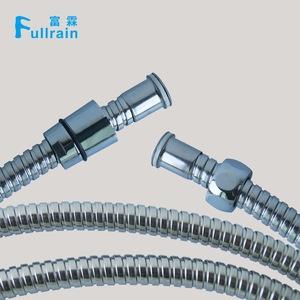 """FLEXIBLE TUBE SHOWER BRASS CHROME BASE CONICAL Fem 1//2/"""" x 1//2/"""" FEM 150 cm"""