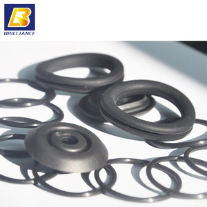 Solid Nitrile Rubber Cord NBR Black O Ring Anti Oil Seal Gasket Dia 2mm to 7mm